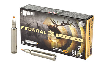 Fed Prm 300win 180 Grain Weight Trphy Tp 20/200