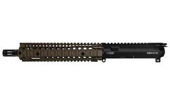 """Daniel Defense Mk18  Upper 5.56 10.3"""" FDE"""