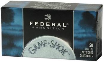 Fed Gmshk 22wmr 50 Grain Weight Jhp 50/3000