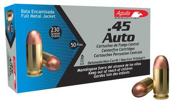 Aguila 45acp 230 Grain Weight Fmj 50/1000