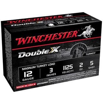 "Win Dbl X Mag Trky 12ga 3"" #5 10/Box"