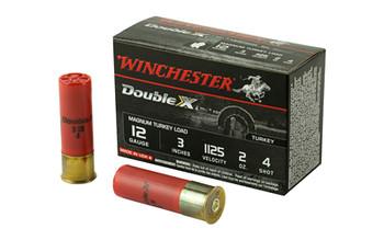 "Win Dbl X Mag Trky 12ga 3"" #4 10/Box"