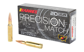 Barnes Prec Mth 308win 175 Grain Weight 20/200