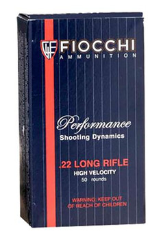 Fiocchi 22lr 40 Grain Weight Cprn 50/Box