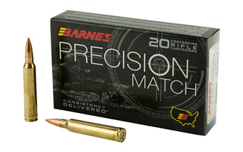 Barnes Prec Mth 300win 220 Grain Weight 20/Box