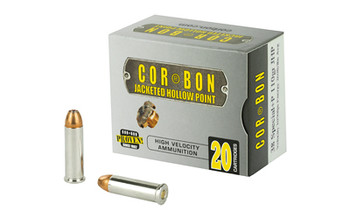 Corbon 38spl+p 110 Grain Weight Jhp 20/Box