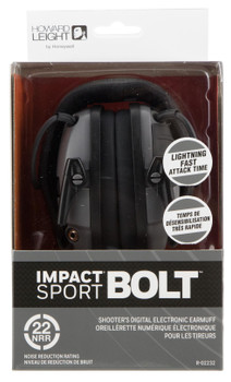 Howard Leight Impact Sport Bolt Elect Grey