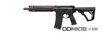 Daniel Defense M4 Carb Mk18 556nato 10.3 Black/fde