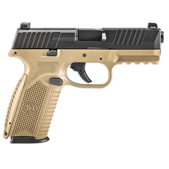 FN Manufacturing FN 509 9MM FDE BLK NS 3 Mags
