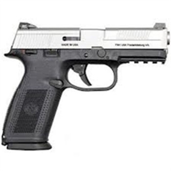 FN Manufacturing Fns-9 DA MS Blk/Ss 17Rd-3 66926