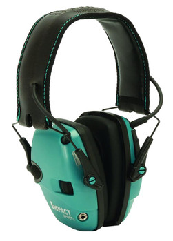Howard Leight Impact Elect Muff Fldng Teal
