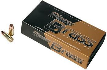 CCI Blazer Brass 9mm 124 Fmj 50/1000