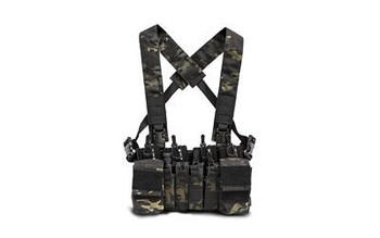 Haley Strategic D3cr X Chest Rig MulticamBlack