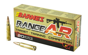 Barnes Range Ar 556nato 52 Grain Weight 20/200