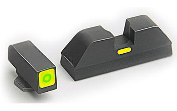 Ameriglo Cap Green Set For Glock 20/21