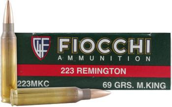 Fiocchi 223rem 77 Grain Weight Hpbt Mk 20/200
