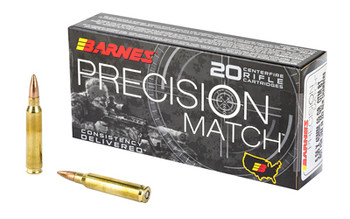 Barnes Prec Mth 556nato 69 Grain Weight 20/200