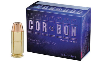 Corbon 40s&w 165 Grain Weight Jhp 20/500