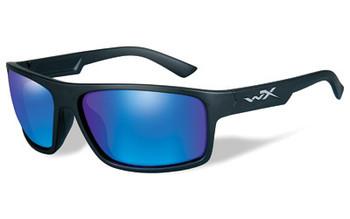 Wiley X Peak Plrzd Blue Mirror Matte