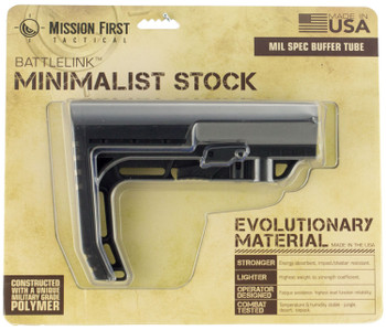 Mission First Tactical Bttlelnk Mnimlst stock Mil Spc Black