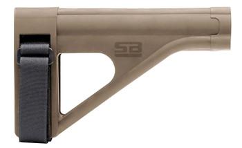 SB Tactical Ar Pistol Brace Sob FDE