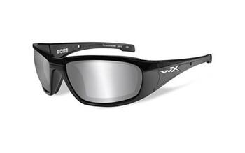 Wiley X Boss Smk Grey/black Frame