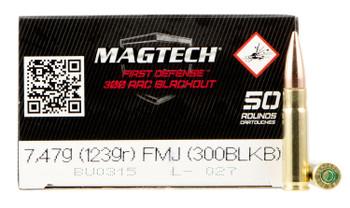 Magtech 300black 123 Grain Weight Fmj 50/1000