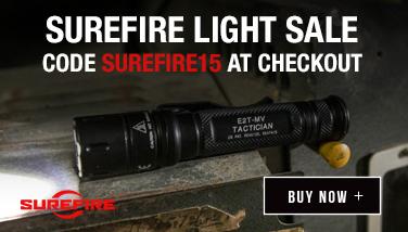 SureFire Lights 15 percent off