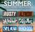 Summer Seasonal Side Badges
