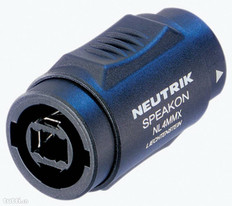 Neutrik SpeakON 4-pole Coupler  NL4MMX