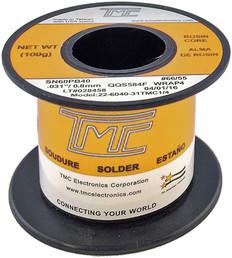 """100g. Solder Wire, 60/40, 0.8mm/0.031""""  24-6040-31TMC1/4"""
