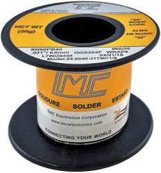 """50g. Solder Wire, 60/40, 0.8mm/0.031""""  24-6040-31TMC1/8"""