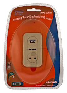 AC/DC Power Supply + Intelligent Charger (USB output)  PW-USB