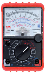 Analog Multimeter with Rubber Protector  YX-360TRNP