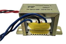 Transformer, 24V, 1000mA, Center Tapped (12V-0V-12V)  TR-12012-1000