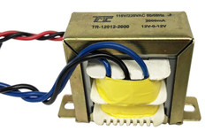 Transformer, 24V, 2000mA, Center Tapped (12V-0V-12V)  TR-12012-2000