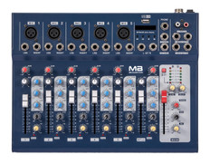7-Channel Professional Mixer, mp3 Player  MX-7F/USB