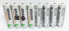 AMAZON AA Rechargeable Batteries (8pcs)  BATAA8NM1900