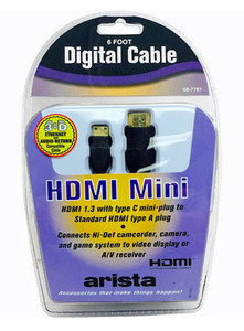 6ft HDMI to HDMI-Mini Cable  58-7781