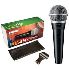 SHURE Cardioid Dynamic Microphone  PGA48-LC