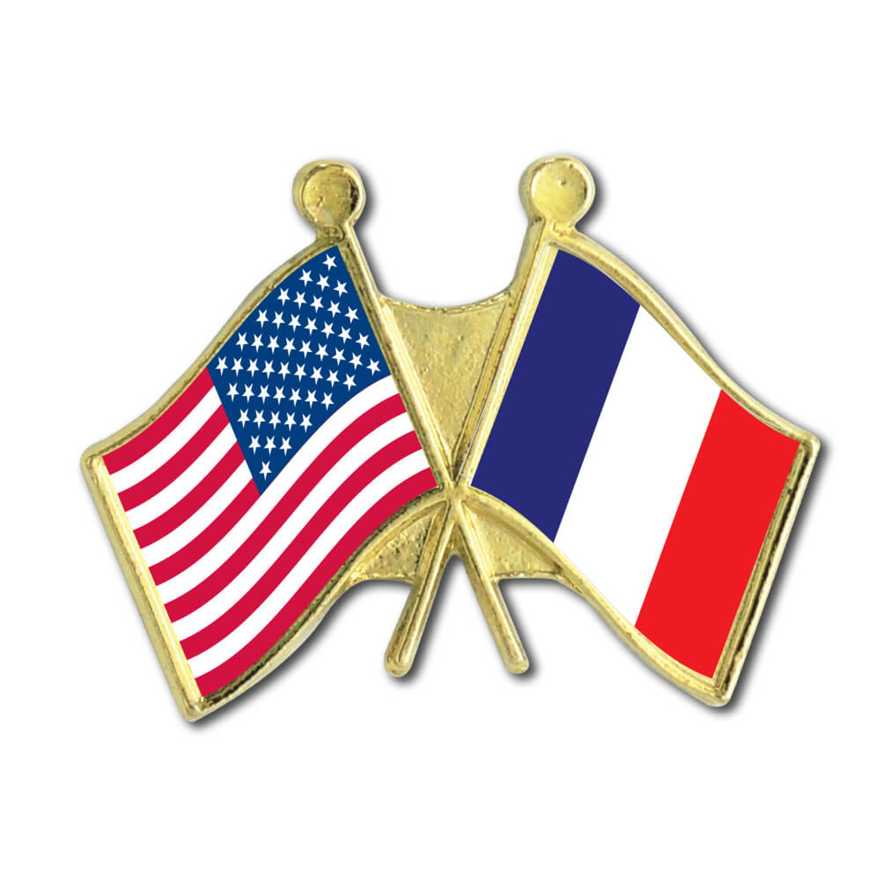 France Country Flag 25mm Pin Button Badge