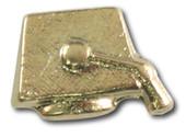 Graduation Cap Lapel Pin
