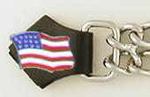 American Flag Vest Extender
