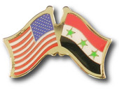 US / Iraq Crossed Flags
