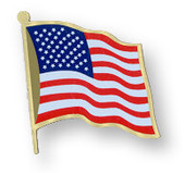 500pc US Flag Printed Closeout