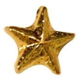Tiny Beveled Star lapel Pin
