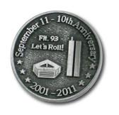 September 11th 10 Year Anniversary Pin