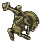 N02- Bucking Bronco Lapel Pin