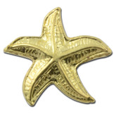 Starfish 2 Lapel Pin