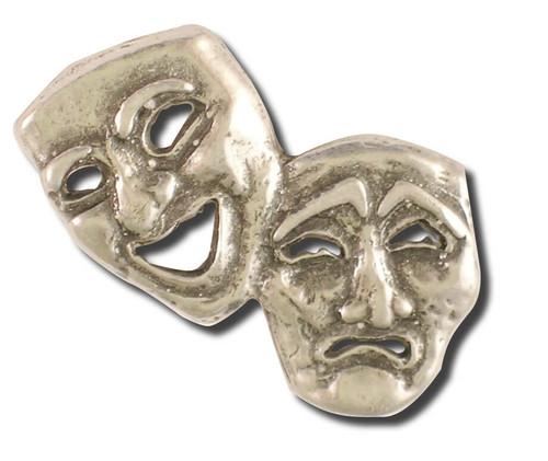 Theater Mask Pin